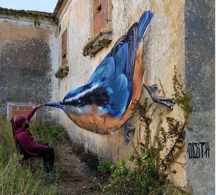 Η τέχνη του γκράφιτι «λυγίζει» την λογική | tovima.gr