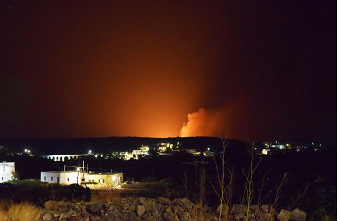 Πυρκαγιά σε δυσπρόσιτη περιοχή στα Κύθηρα | tovima.gr