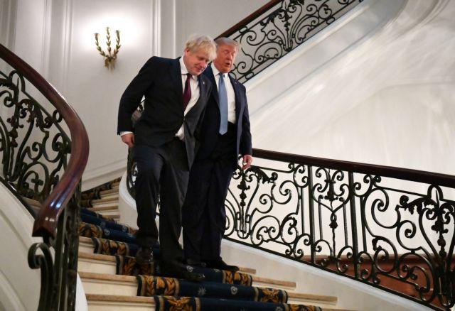 Τραμπ: Τζόνσον, ο κατάλληλος άνθρωπος για το Brexit | tovima.gr