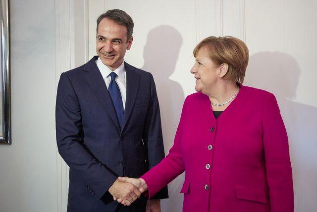 Σε τι προσβλέπει η Μέρκελ από τη συνάντηση με Μητσοτάκη | tovima.gr
