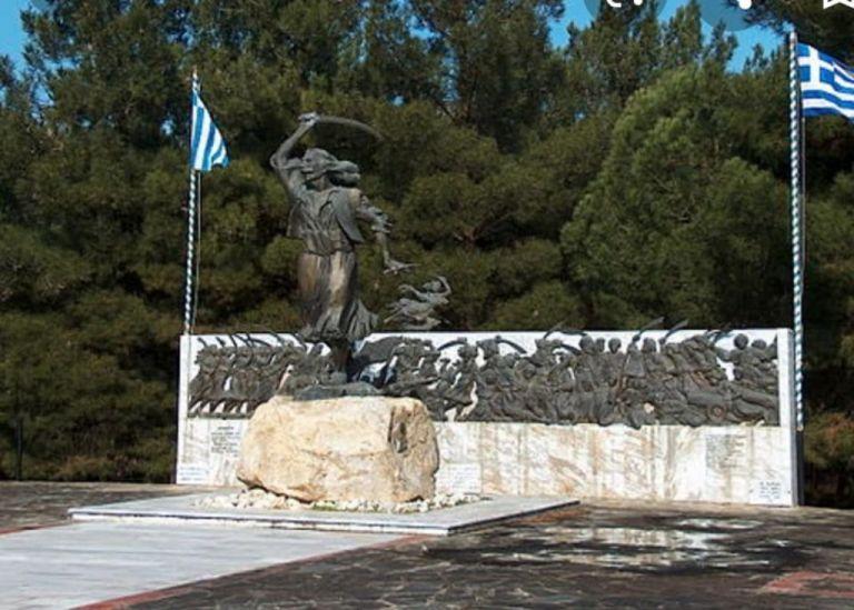 Χαλκιδική: Εκλεψαν μεταλλική παράσταση από το μνημείο του καπετάν Χάψα   tovima.gr