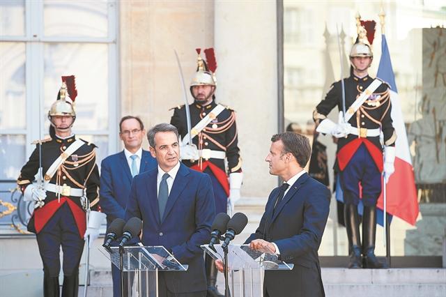 Συμμαχίες και μηνύματα από το Παρίσι | tovima.gr