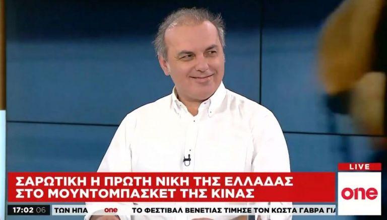 Στ. Ελληνιάδης στο One Channel: Μπορεί να πάρει μετάλλιο η Εθνική μας στο Παγκόσμιο Κύπελλο | tovima.gr