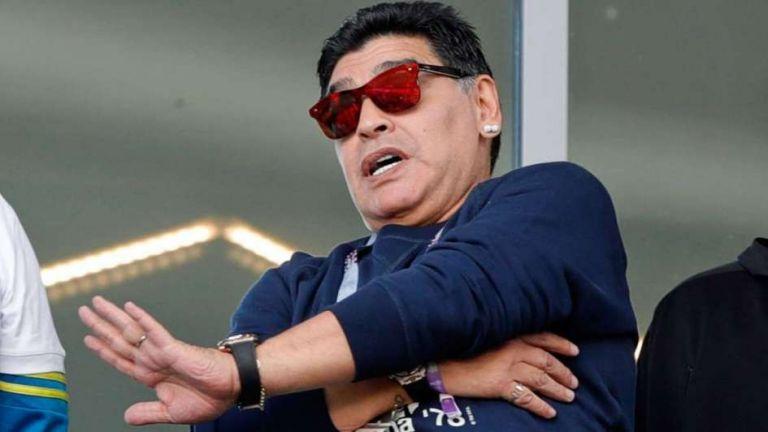 Ο Μαραντόνα ανέλαβε την ουραγό του πρωταθλήματος Αργεντινής | tovima.gr