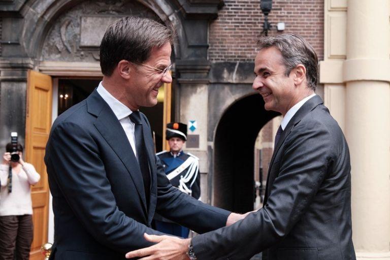 New era in Greek-Dutch relations with Mitsotakis-Rutte talks | tovima.gr