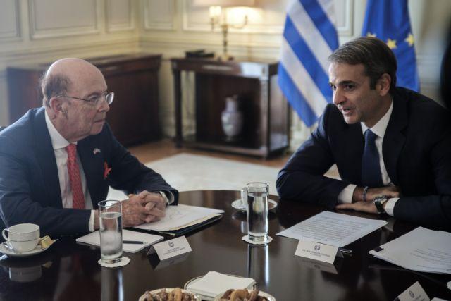 Οι αμερικανικές επενδύσεις στο επίκεντρο της συνάντησης Μητσοτάκη – Ρος | tovima.gr
