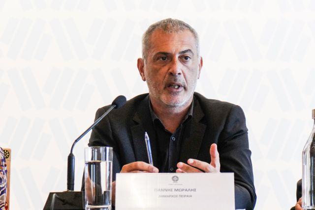 Συνάντηση Γιάννη Μώραλη με τον υπουργό Οικονομικών Χρήστο Σταϊκούρα | tovima.gr