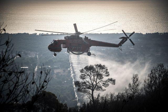 Νέα Μάκρη – πυρκαγιά: Καταγγελίες για εμπρησμό – Βελτιωμένη η εικόνα | tovima.gr