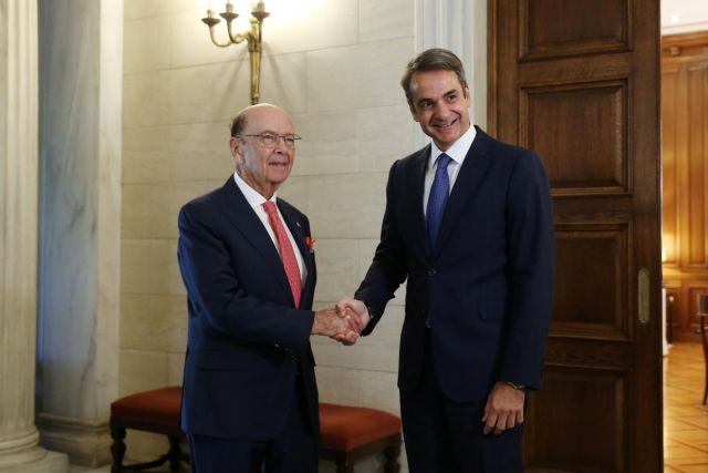 Wilbur Ross, Mitsotakis hold talks with an eye on Ellinikon | tovima.gr