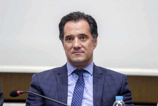 Γεωργιάδης: Ασχολούμαστε με επενδύσεις σοβαρών επιχειρηματιών   tovima.gr