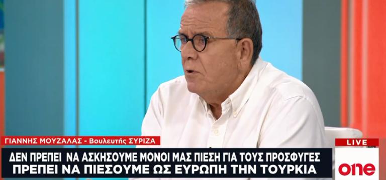 Γ. Μουζάλας για το προσφυγικό στο One Channel: Χρειάζονται πρακτικά μέτρα, όχι προπαγάνδα | tovima.gr