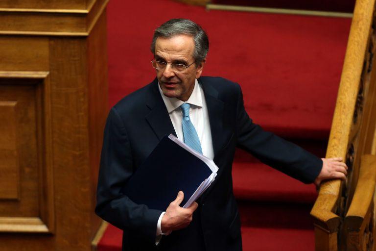 Καταθέτει για την υπόθεση Novartis ο Αντώνης Σαμαράς | tovima.gr