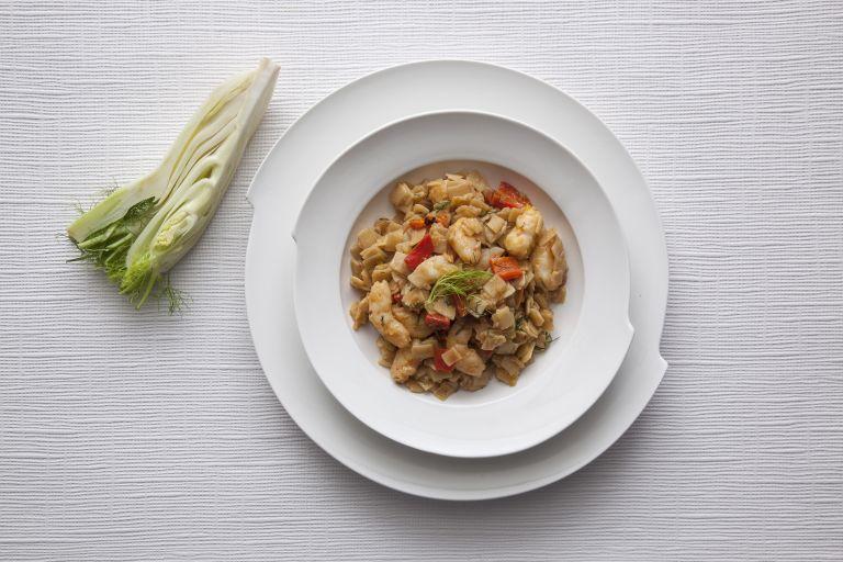 Χυλοπιτάκι με γαρίδες και ψητές πιπεριές | tovima.gr