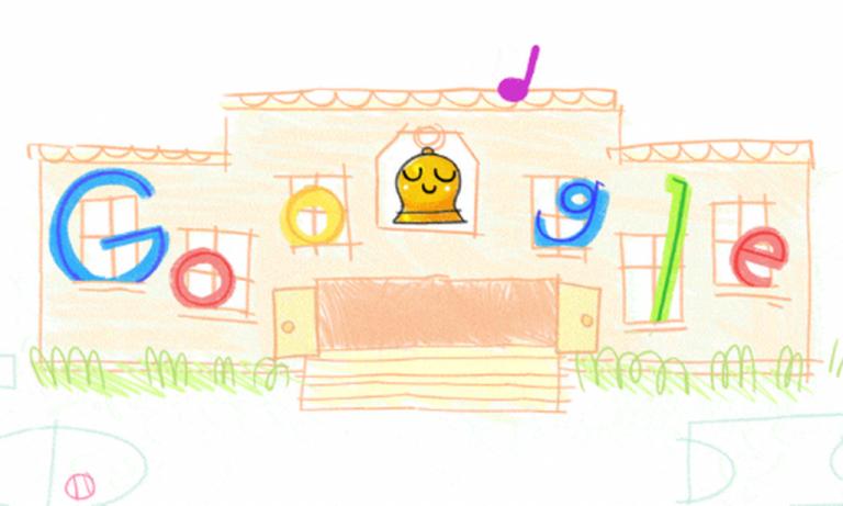 Google: Το doodle για τη νέα σχολική χρονιά | tovima.gr