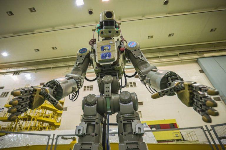 Στη σύνταξη ο «Φιόντορ», το πρώτο ρωσικό ανθρωποειδές ρομπότ που ταξίδεψε στο διάστημα | tovima.gr