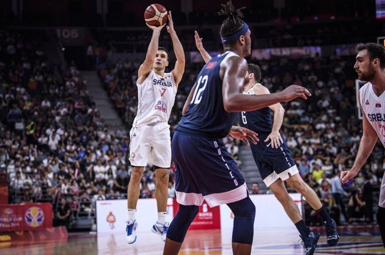 Μουντομπάσκετ : Τα highlights του αγώνα Σερβία – ΗΠΑ | tovima.gr