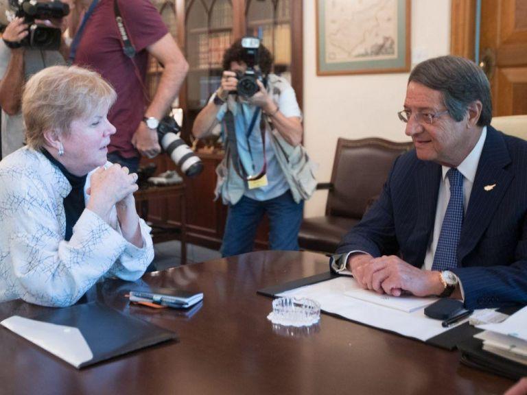 Κυπριακό : Βήματα προόδου διαπιστώνει η απεσταλμένη του ΓΓ του ΟΗΕ | tovima.gr