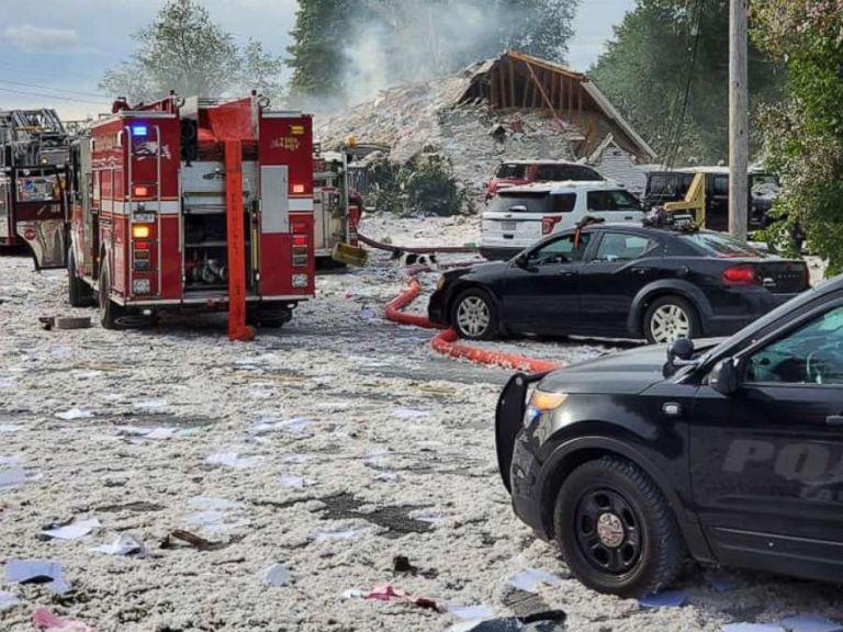 ΗΠΑ: Ισχυρή έκρηξη ισοπέδωσε κέντρο στήριξης ΑΜΕΑ [Εικόνες] | tovima.gr