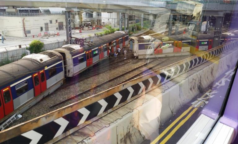 Χονγκ Κονγκ: Οκτώ ελαφρά τραυματίες από εκτροχιασμό συρμού του μετρό | tovima.gr
