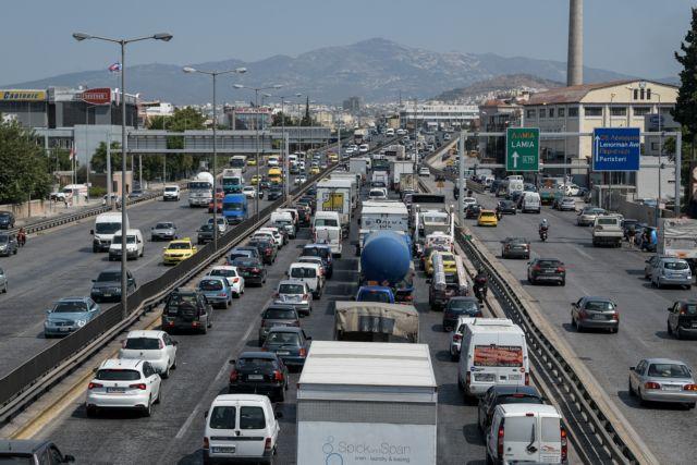 Κυκλοφοριακό χάος στον Κηφισό – Με δυσκολία η κίνηση και στα δύο ρεύματα | tovima.gr