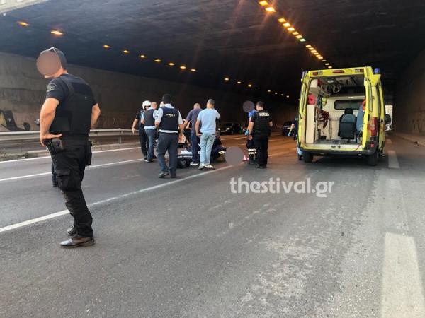 Μαρτυρία μοτοσικλετιστή στη Θεσσαλονίκη: Είδα να βρέχει άνθρωπο | tovima.gr
