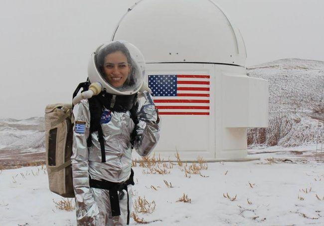 Ελένη Αντωνιάδου : Η NASA, ο σάλος στο διαδίκτυο και οι καθηγητές της – Τι απαντά η ίδια   tovima.gr
