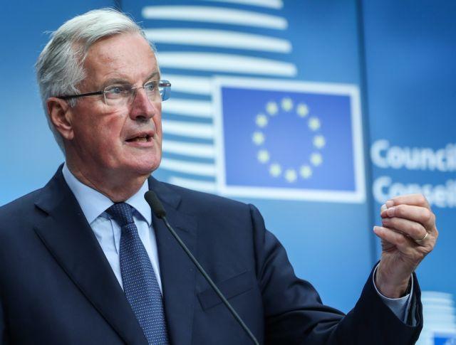Brexit : Το θέμα δεν είναι να κάνουμε ότι διαπραγματευόμαστε, λέει ο Μπαρνιέ | tovima.gr