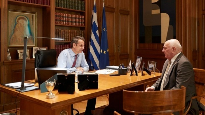 Mitsotakis, Zerefos discuss climate change proposal ahead of UN climate summit | tovima.gr