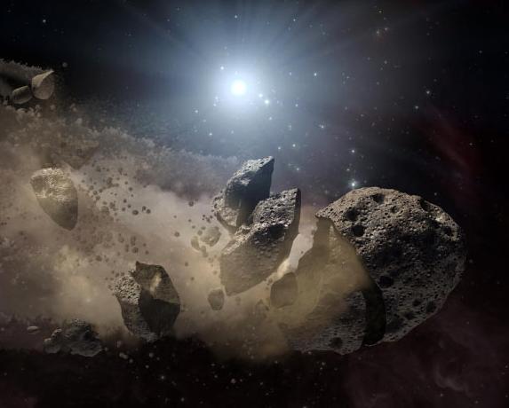 Σκόνη από την καταστροφή αστεροειδούς οδήγησε τη Γη σε εποχή παγετώνων | tovima.gr
