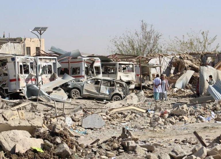 Αφγανιστάν: Σε 39 ανήλθαν τελικά οι νεκροί από τη χθεσινή επίθεση αυτοκτονίας των Ταλιμπάν | tovima.gr