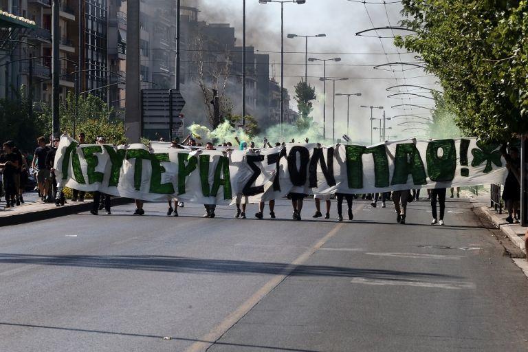 Πορεία διαμαρτυρίας οπαδών του Παναθηναϊκού εναντίον Αλαφούζου | tovima.gr