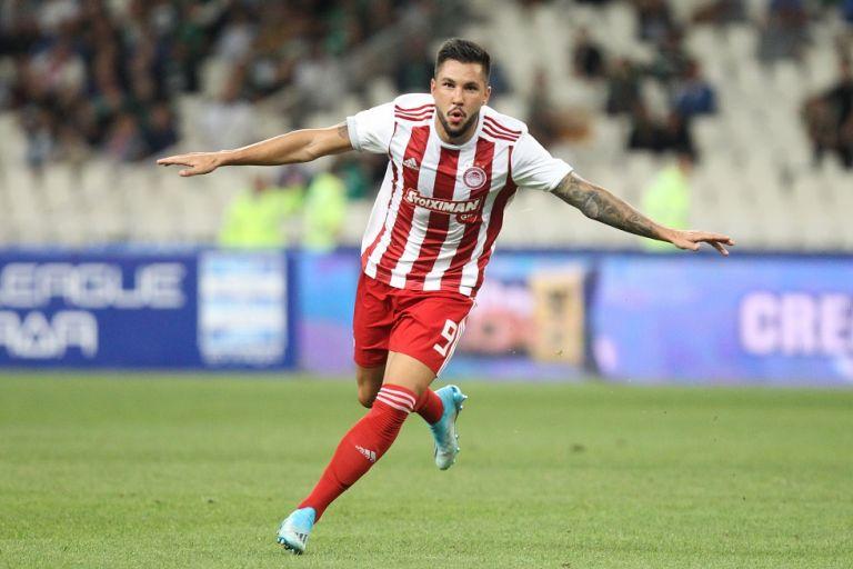Ο Γκερέρο κάνει το 1-0 για τον Ολυμπιακό | tovima.gr