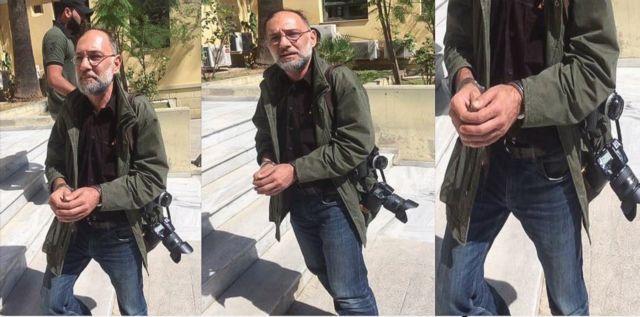 ΕΦΕ: Η εικόνα του φωτορεπόρτερ με χειροπέδες παραπέμπει σε τριτοκοσμική χώρα | tovima.gr