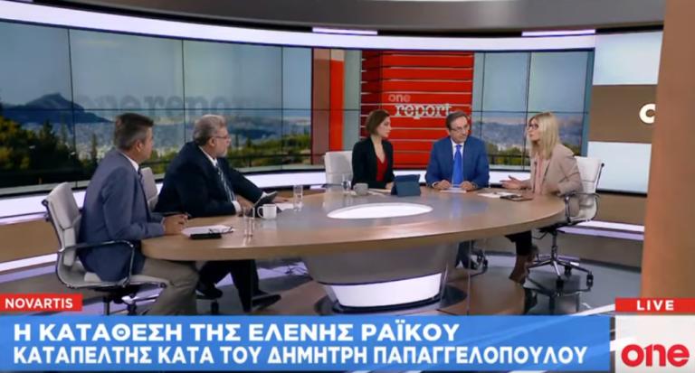 Αντιπαράθεση για τη Novartis: Γ. Μπούγας – Δ. Αυγέρη στο One Channel   tovima.gr