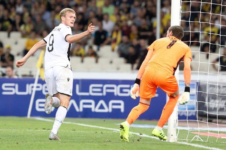 ΑΕΚ-ΠΑΟΚ : Το γκολ του Σβιντέρσκι για το 0-1 (vid) | tovima.gr