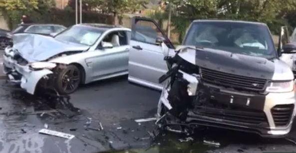 Τροχαίο ατύχημα ο Ντεφόε   tovima.gr