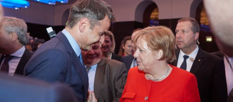 Editorial: What Mitsotakis gained from Merkel | tovima.gr