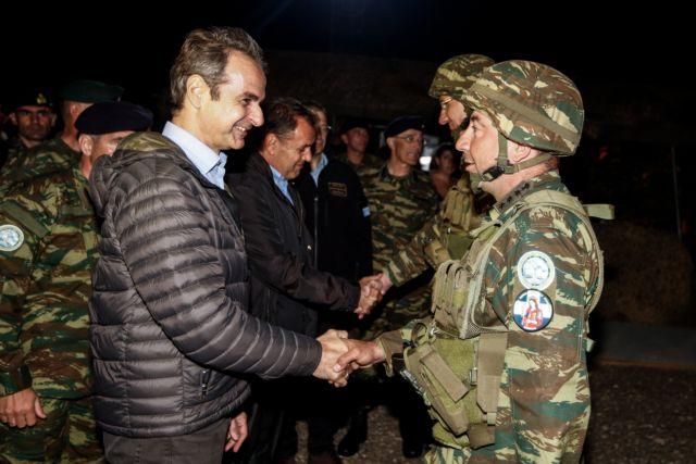 Μητσοτάκης : Εντυπωσιασμένος από τις Ένοπλες δυνάμεις   tovima.gr