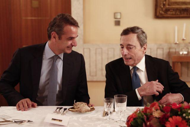 Οταν ο Μητσοτάκης συνάντησε τον Ντράγκι | tovima.gr