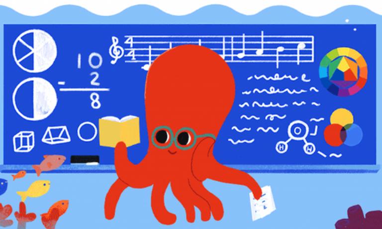 Το doodle της Google για την παγκόσμια ημέρα εκπαιδευτικών | tovima.gr