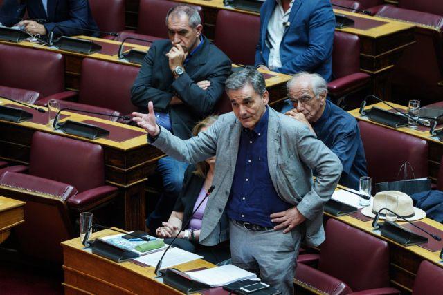 Ευκλείδης Τσακαλώτος: Καυστικά σχόλια για τον Προϋπολογισμό 2020 | tovima.gr