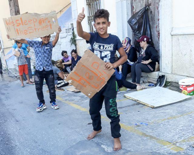 Σύμη : Πάνω από 500 πρόσφυγες – μετανάστες αποχωρούν από το νησί | tovima.gr