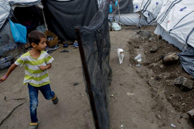 Μόρια : Τραγικές εικόνες – Σκουπίδια και σκηνές στις λάσπες | tovima.gr