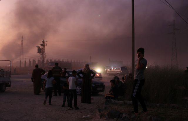 Συρία: Σε πλήρη εξέλιξη η τουρική εισβολή – άμαχοι μεταξύ των νεκρών και χιλιάδες εκτοπισμένοι | tovima.gr