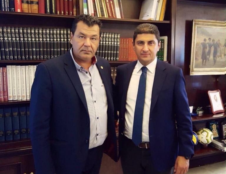 Γήπεδο ΚΑΕ ΑΕΚ : Συνάντηση Αυγενάκη με τον Δήμαρχο Φυλής | tovima.gr