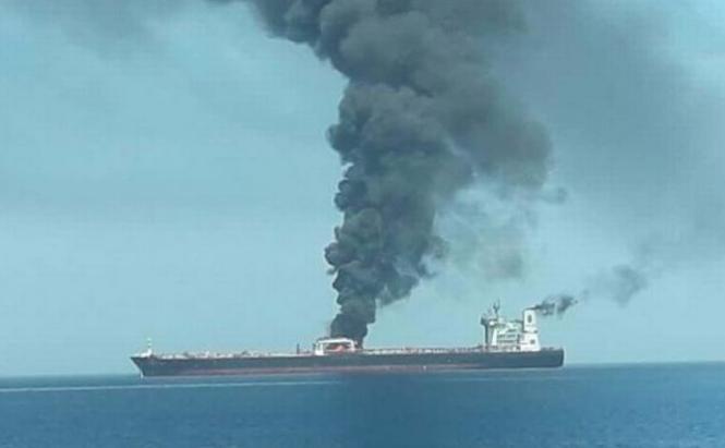 Εκρηξη σε ιρανικό τάνκερ – Δέχθηκε πυραυλική επίθεση, λέει η Τεχεράνη   tovima.gr
