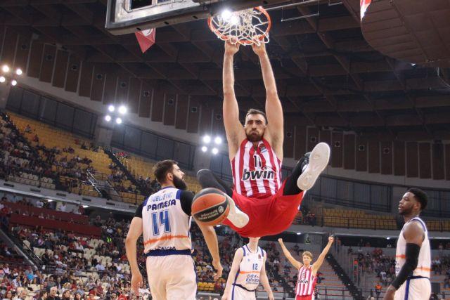 Euroleague : Σμπαράλιασε τη Βαλένθια ο μεταμορφωμένος Ολυμπιακός | tovima.gr