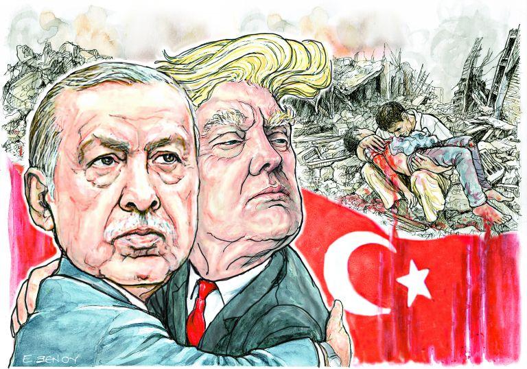 Η «χημεία» Τραμπ – Ερντογάν ανησυχεί την Αθήνα | tovima.gr