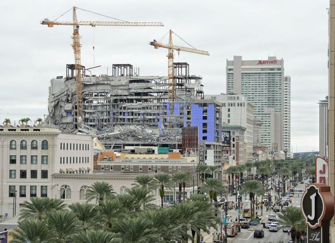 Νέα Ορλεάνη: Κατέρρευσε ξενοδοχείο | tovima.gr