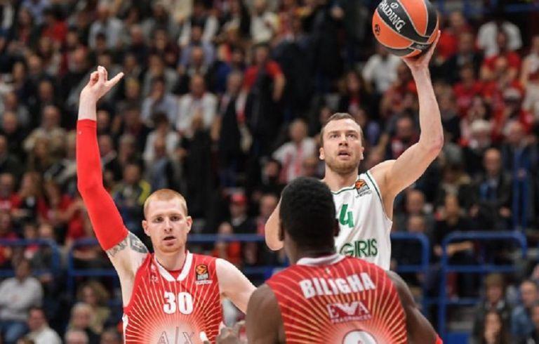 Αρμάνι – Ζαλγκίρις: Αναγνώρισε την τριπλή παράβαση του Ρολ η Euroleague (pic) | tovima.gr